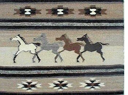 The Horse Song Tapestry Roy Kady