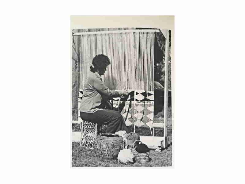 Salish Blanket Weaving
