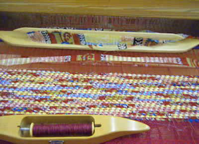 Sari Silk on Loom