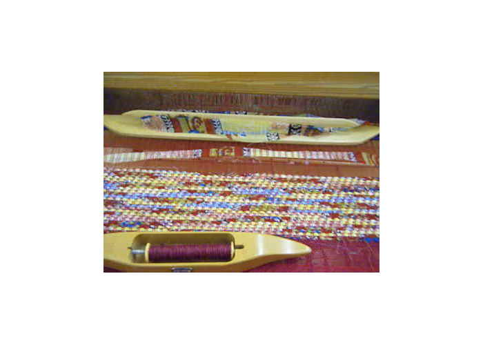 Weaving Sari Silk