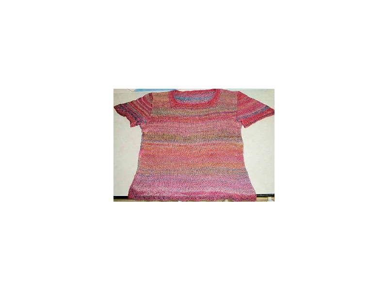 Knitted Silk Top
