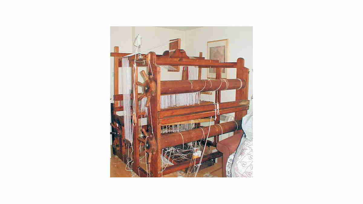 Double Beam Countermarche Loom