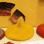 Fungi Dyed Nalbinding Hats