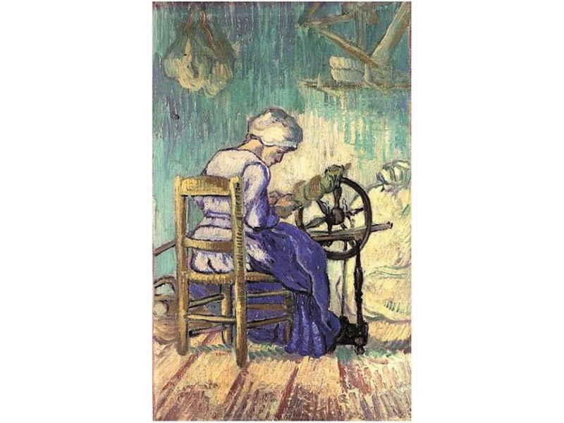The Spinner - Van Gogh