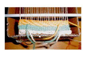 Box Loom Weaving Twill