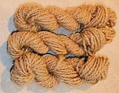Cedar Bark Dyed Yarn