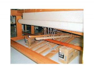 Loom Pedal Tie up