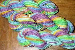 Koolaid Dyed Yarn