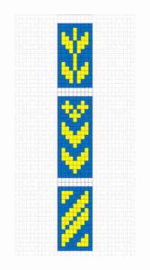 Sami Band Weaving Pattern