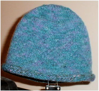 Knitted Felt Hat
