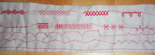 Sewing Sample