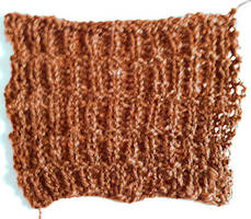 Rib Lines Knitting Pattern