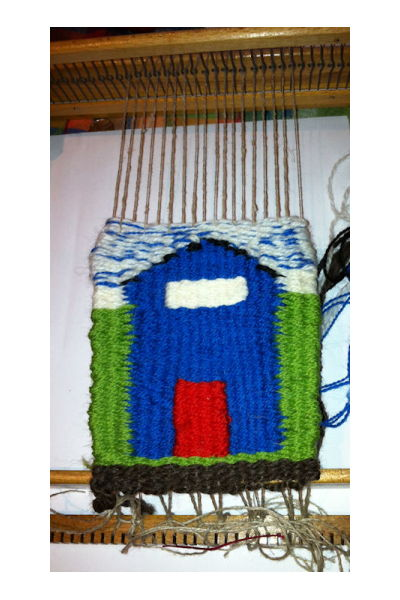 Beach Hut Tapestry