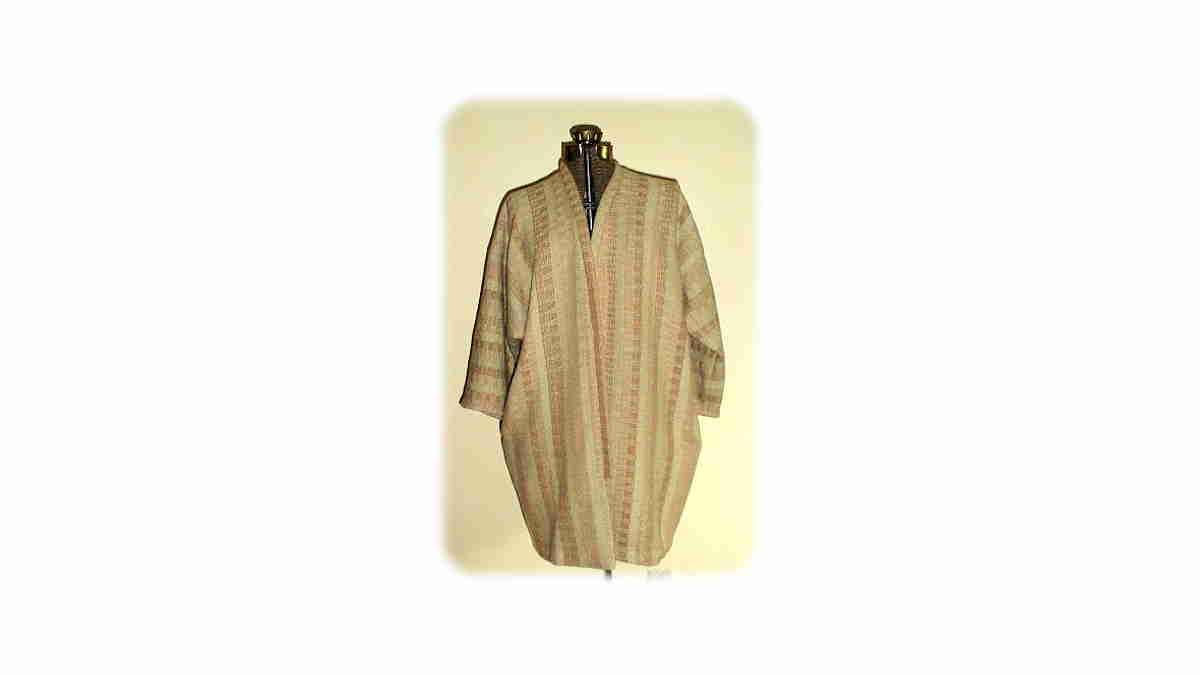 Hemp Foxfibre Kimono