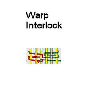 Tapestry Warp Interlock