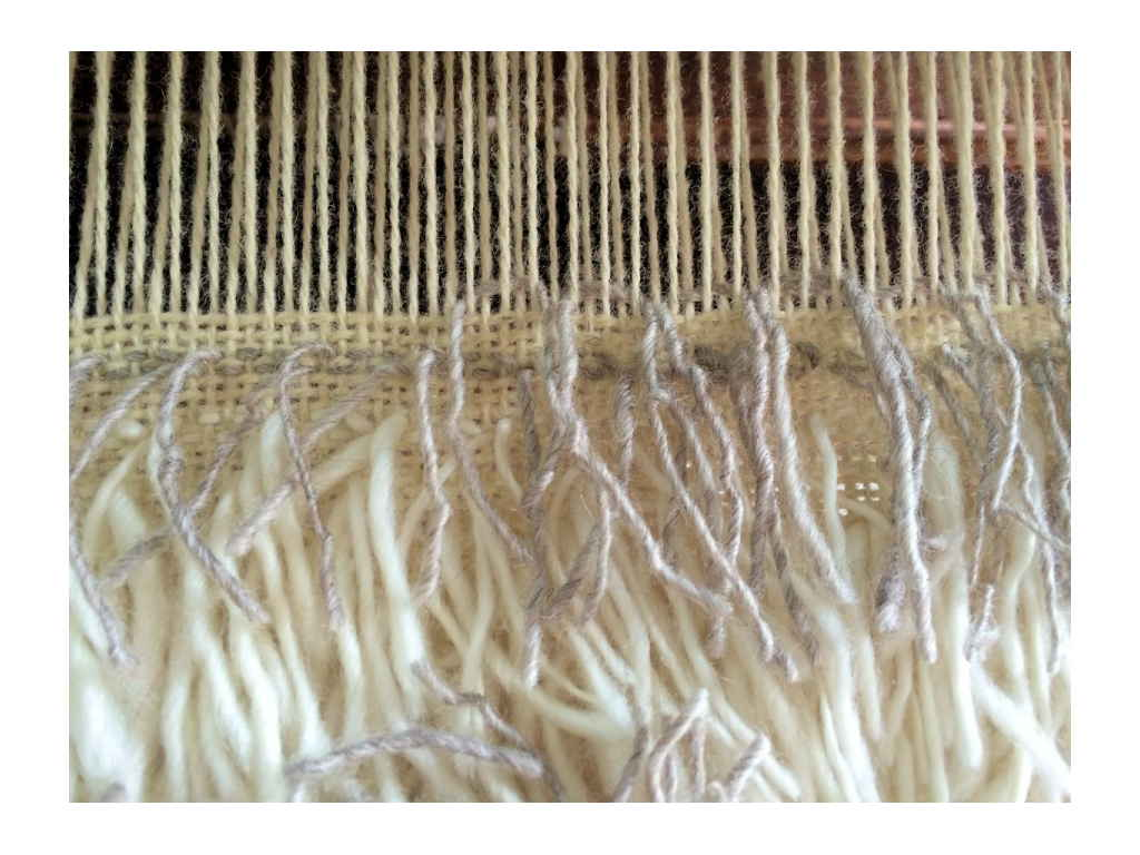 Flokati Weaving