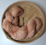Handspun Rose Fibre Yarn
