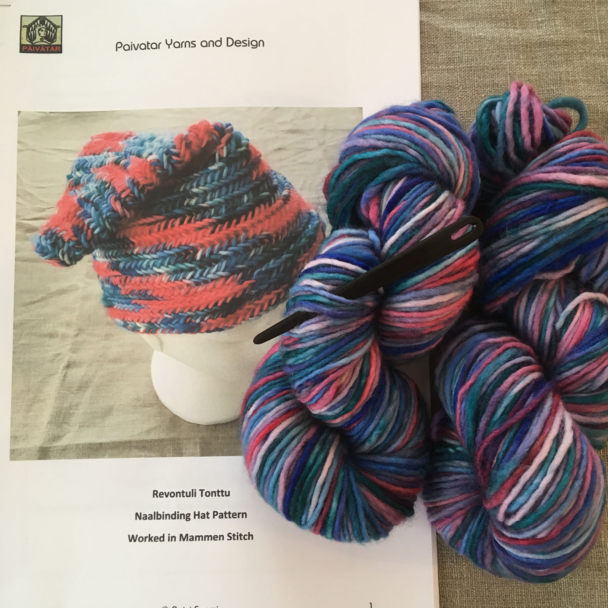Nalbinding Hat Kit