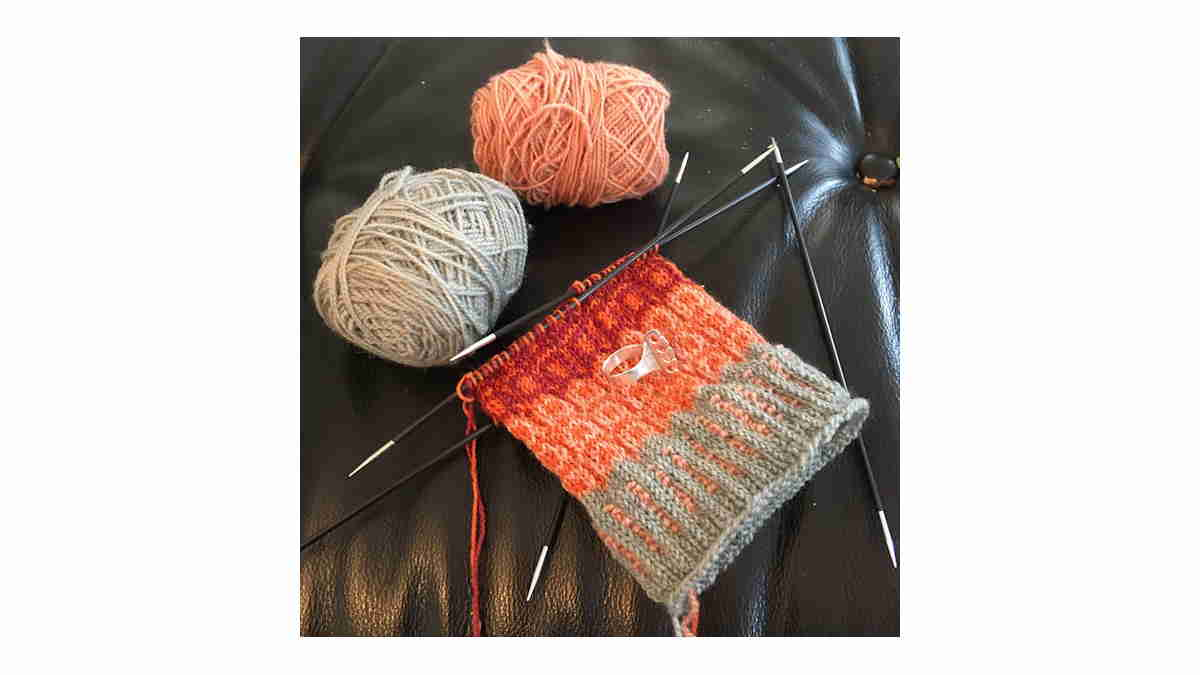 Wool Sock Knitting