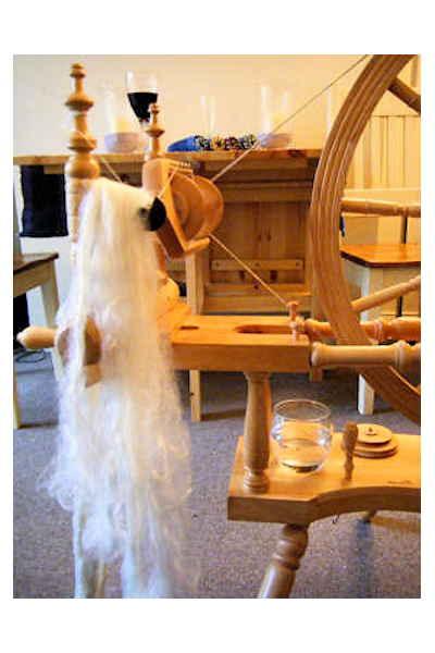 Spinning Milk Fibre