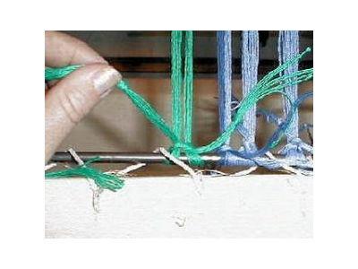 Tie Warp Knot 2