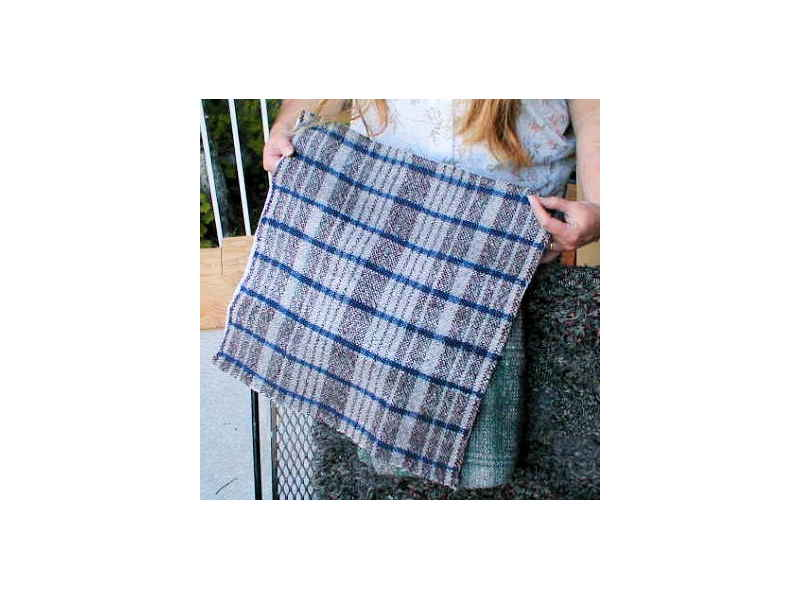 Rigid Heddle Pillow