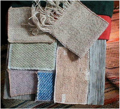 Peat Moss Fabric Samples