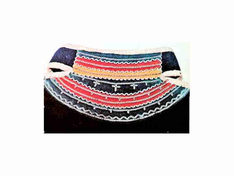 Sami Tin Embroidery Collar