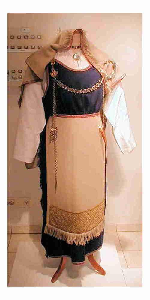 Finnish Viking Age Clothing
